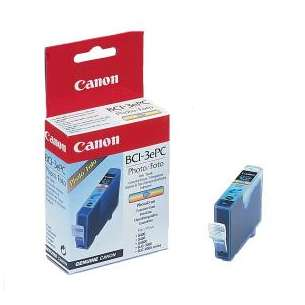 Genuine Brand Canon BCI-3ePC inkjet cartridge - light cyan
