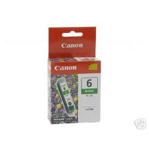 Genuine Brand Canon BCI-6G inkjet cartridge - green