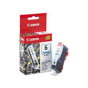 Genuine Brand Canon BCI-6PC inkjet cartridge - light cyan