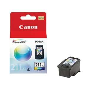 Genuine Brand Canon CL-211XL inkjet cartridge - high capacity color