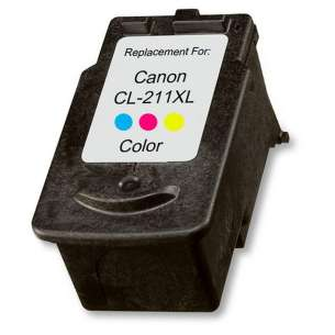 Remanufactured Canon CL-211XL inkjet cartridge - color cartridge