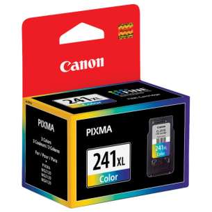 Genuine Brand Canon CL-241XL inkjet cartridge - high capacity color