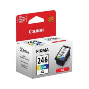 Genuine Brand Canon CL-246XL inkjet cartridge - high capacity color