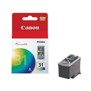 Genuine Brand Canon CL-31 inkjet cartridge - color cartridge