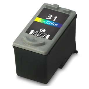 Remanufactured Canon CL-31 inkjet cartridge - color cartridge