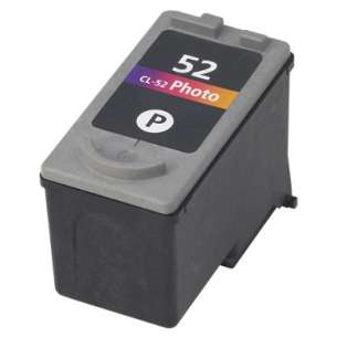 Remanufactured Canon CL-52 inkjet cartridge - photo