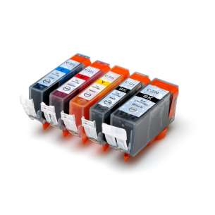 Compatible inkjet cartridges Multipack for Canon CLI-221 / PGI-220 - 5 pack