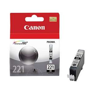 Genuine Brand Canon CLI-221Bk inkjet cartridge - black cartridge