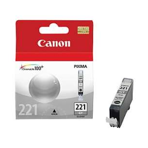 Genuine Brand Canon CLI-221GY inkjet cartridge - gray