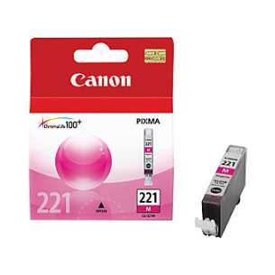 Genuine Brand Canon CLI-221M inkjet cartridge - magenta