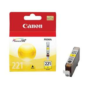 Genuine Brand Canon CLI-221Y inkjet cartridge - yellow
