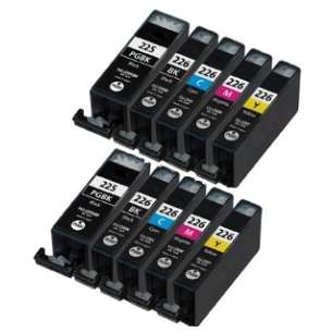 Compatible inkjet cartridges Multipack for Canon CLI-226 / PGI-225 - 10 pack
