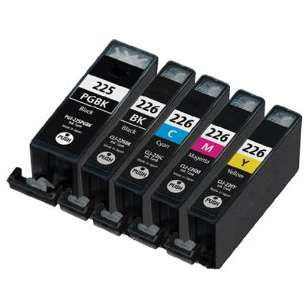 Compatible inkjet cartridges Multipack for Canon CLI-226 / PGI-225 - 5 pack