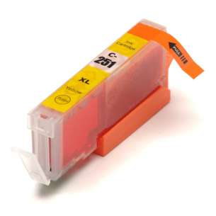 Canon CLI-251Y XL - Yellow Compatible Ink Cartridge