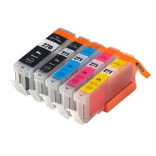 Compatible inkjet cartridges Multipack for Canon CLI-271 XL / PGI-270 XL - 5 pack