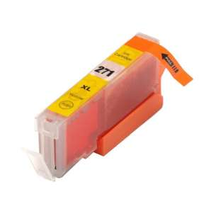 Compatible Ink Cartridge To Replace Canon CLI-271Y XL - Yellow