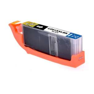 Compatible inkjet ink cartridge for Canon CLI-281BK XXL - black