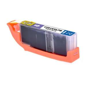 Compatible inkjet ink cartridge for Canon CLI-281PB XXL - photo blue
