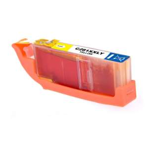 Compatible inkjet ink cartridge for Canon CLI-281Y XXL - yellow
