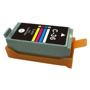 Compatible ink cartridge to replace Canon CLI-36 - color cartridge