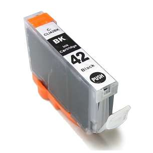 Compatible ink cartridge to replace Canon CLI-42BK - black cartridge