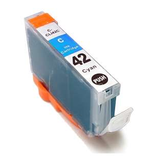 Compatible ink cartridge to replace Canon CLI-42C - cyan