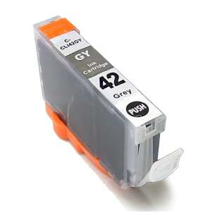Compatible ink cartridge to replace Canon CLI-42GY - gray