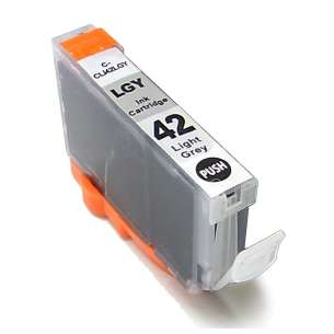 Compatible ink cartridge to replace Canon CLI-42LGY - light gray