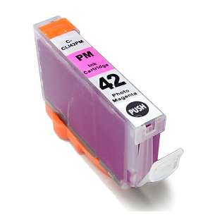 Compatible ink cartridge to replace Canon CLI-42PM - photo magenta