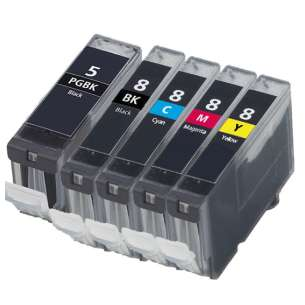 Compatible inkjet cartridges Multipack for Canon CLI-8 / PGI-5 - 5 pack