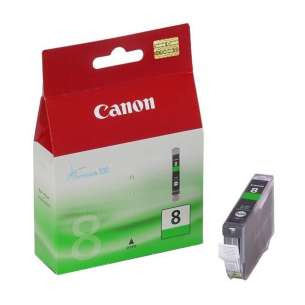 Genuine Brand Canon CLI-8G inkjet cartridge - green