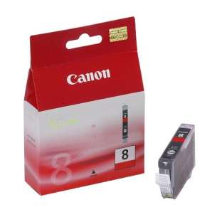 Genuine Brand Canon CLI-8R inkjet cartridge - red