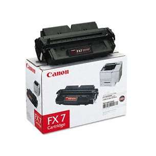 Genuine Brand Canon 7621A001AA (FX-7) toner cartridge - black cartridge
