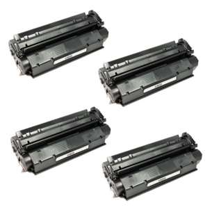 Compatible Atlantic Inkjet Canada Canon FX-8 / S35 toner cartridges - black - 4-pack