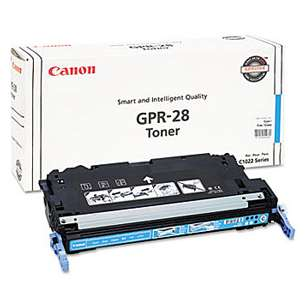 Original Canon 1659B004 (GPR-28) toner cartridge - cyan