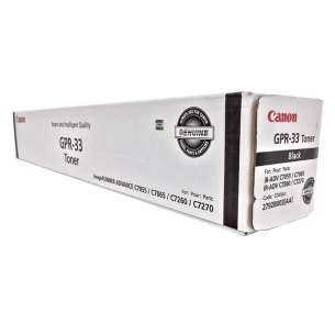 Original Canon 2792B003AA (GPR-33) toner cartridge - black