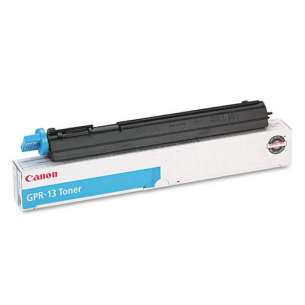 Genuine Brand Canon 8641A003AA (GPR-13) toner cartridge - cyan