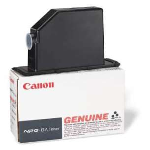 Genuine Brand Canon 1384A011AA (NPG13) toner cartridge - black cartridge