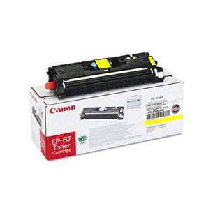 Genuine Brand Canon EP-87 toner cartridge - yellow