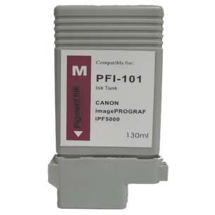 Compatible ink cartridge to replace Canon PFI-101M - magenta