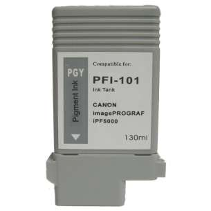 Compatible ink cartridge to replace Canon PFI-101PGY - photo gray