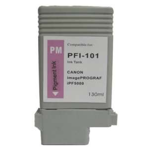 Compatible ink cartridge to replace Canon PFI-101PM - photo magenta