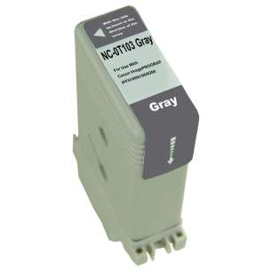 Compatible ink cartridge to replace Canon PFI-103GY - gray