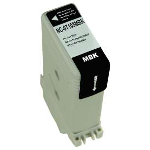 Compatible ink cartridge to replace Canon PFI-103MBK - matte black
