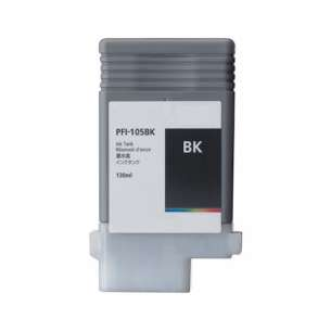 Compatible ink cartridge to replace Canon PFI-105BK - black cartridge