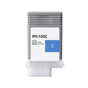 Compatible ink cartridge to replace Canon PFI-105C - cyan