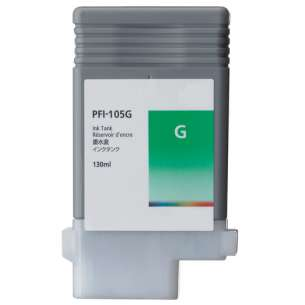 Compatible ink cartridge to replace Canon PFI-105G - green