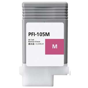 Compatible ink cartridge to replace Canon PFI-105M - magenta