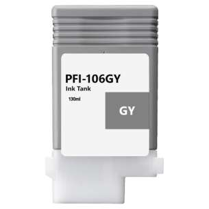 Compatible ink cartridge to replace Canon PFI-106GY - gray