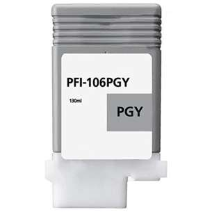 Compatible ink cartridge to replace Canon PFI-106PGY - photo gray